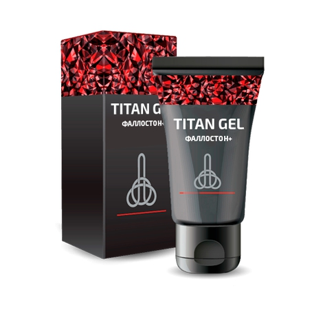 Крем Фаллостон Plus+ Titan Gel