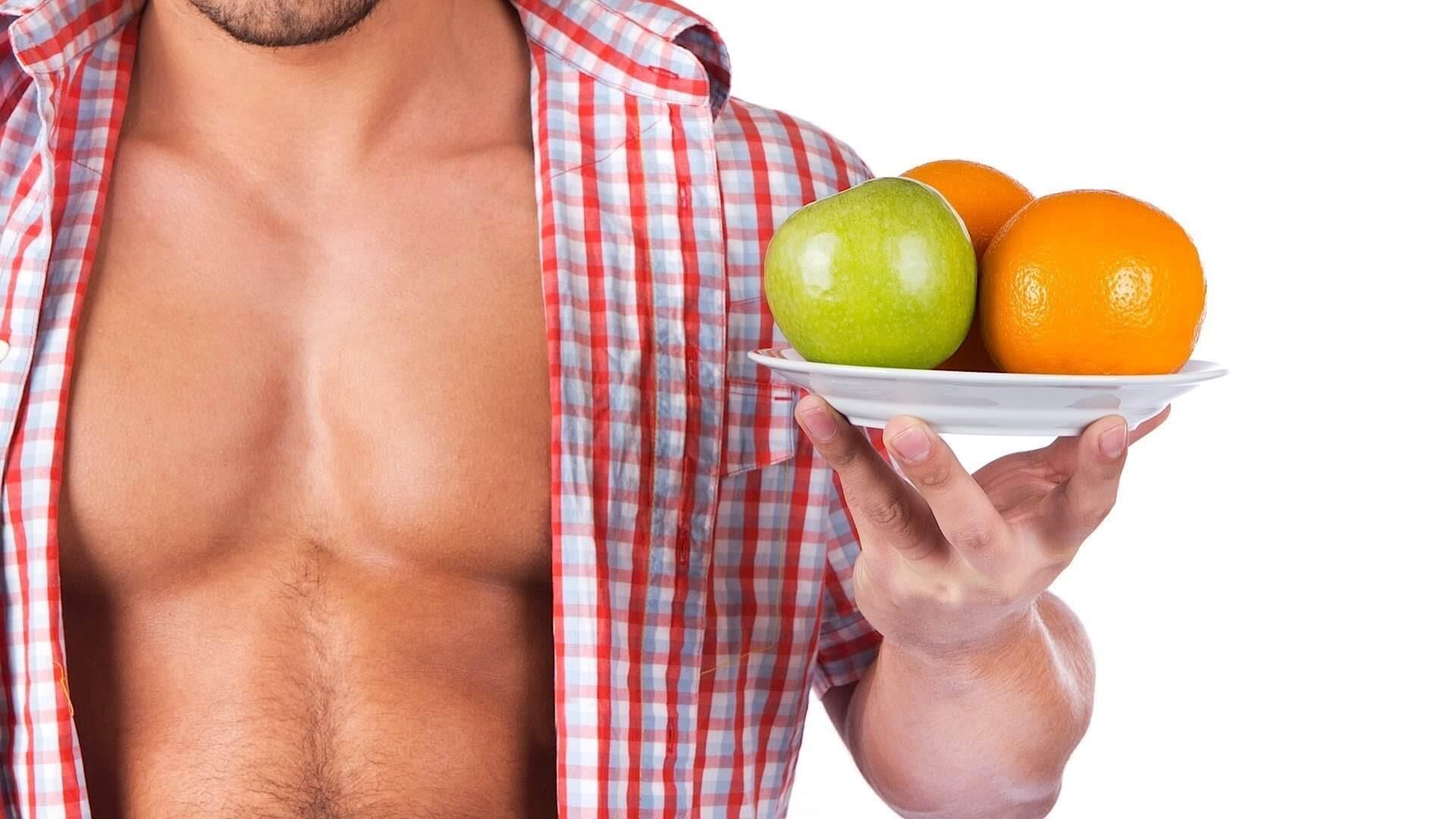 Мужская диета для живота