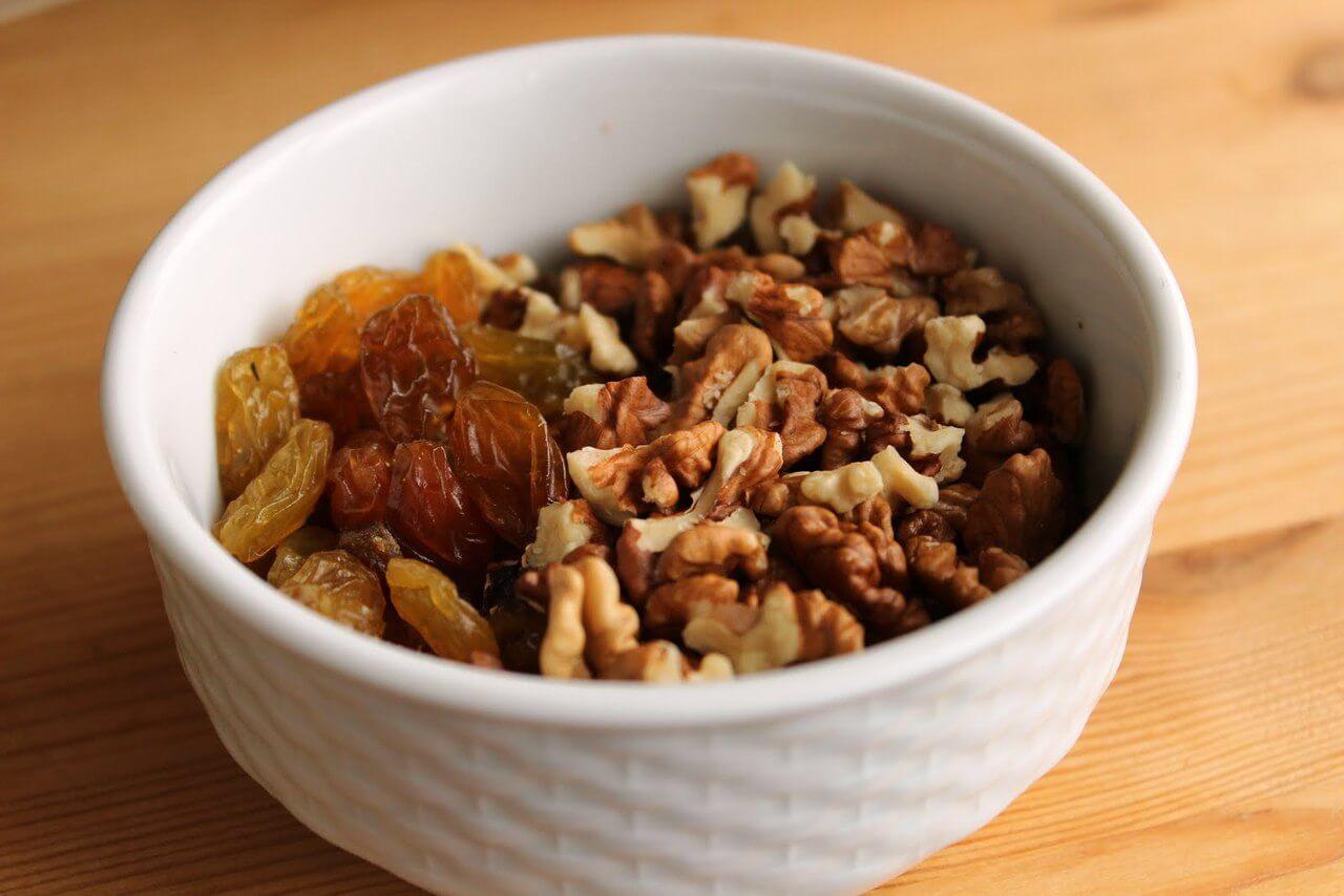 Иммунная смесь из сухофруктов и орехов рецепт