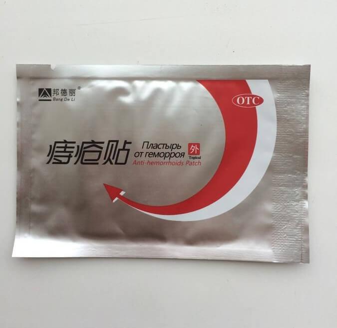 ANTI-HEMORRHOIDS - пластырь от геморроя в Семее