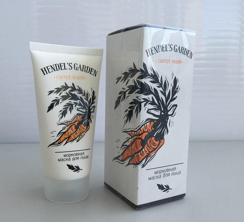 Carrot Mask Hendel морковная маска в Кирове