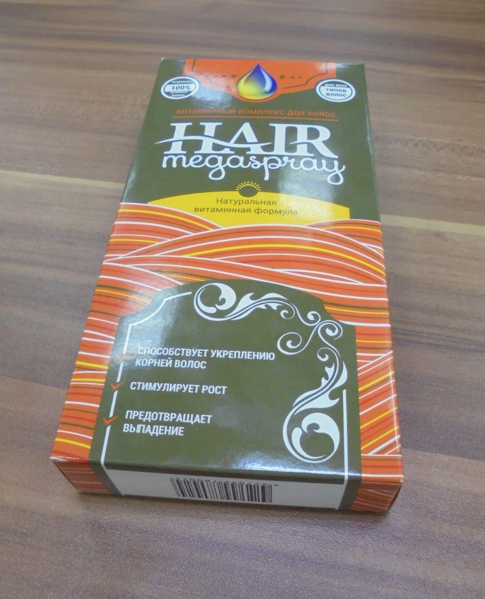 Цена спрей для волос hair megaspray отзывы