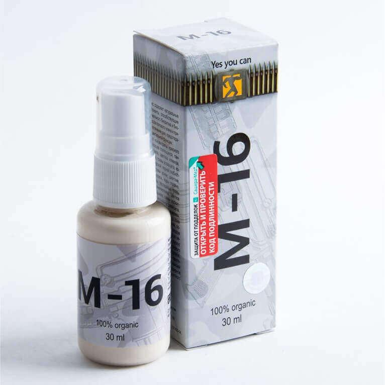 M16 спрей для потенции отзывы