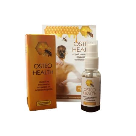 Спрей Osteo Health от остеохондроза состав преимущества цена отзывы