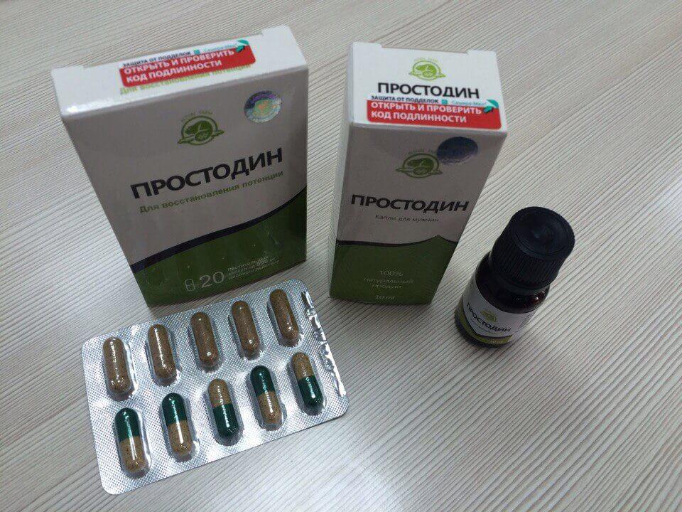 Простодин - капли от простатита в Артёме