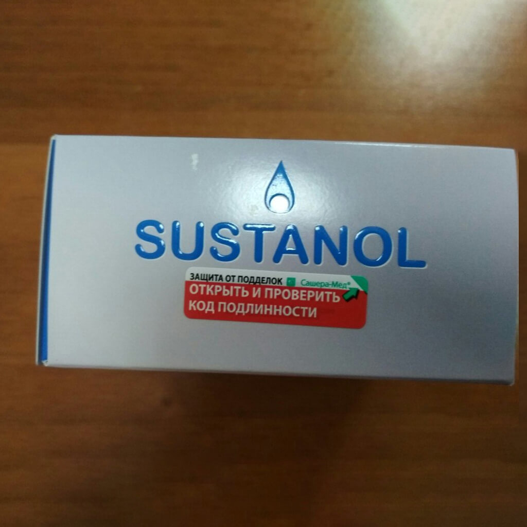 Sustanol - крем-свеча для суставов в Березниках