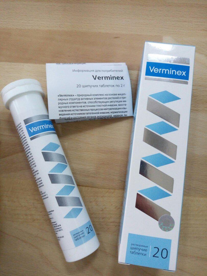 Verminex от паразитов в Хилоке
